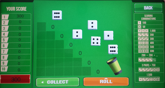 odds of shaking 5 of a kind in farkle