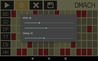 Screenshot of DMach - Drum Machine