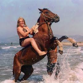 Horse safari by Maja Ličina - Animals Horses (  )