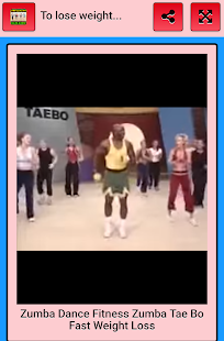 To lose weight by dancing.- screenshot