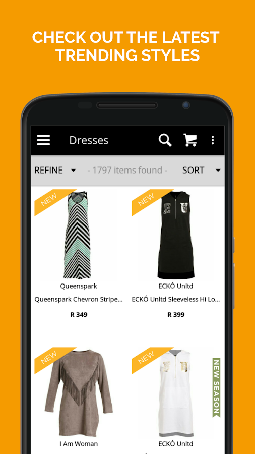Zando Fashion Online Shopping Screenshot 1