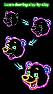Draw Glow Animals