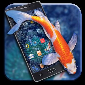 KOI Lucky Fish 3D Theme For PC