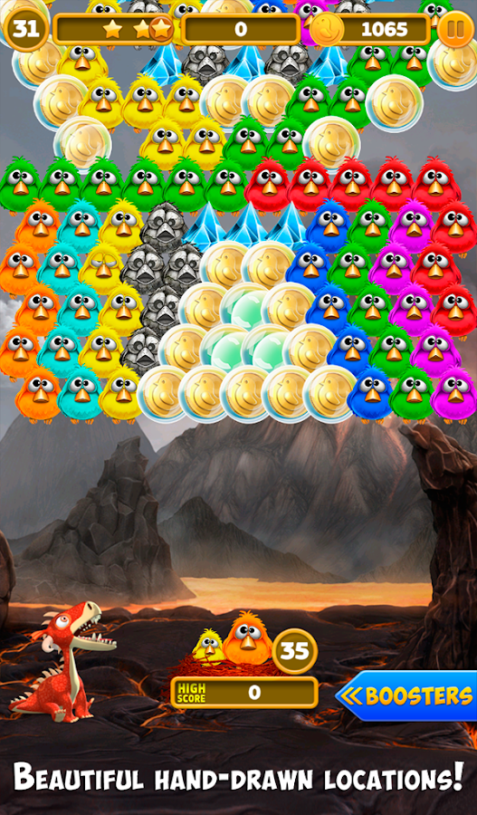 Bubble Shooter Birds Screenshot 7