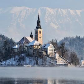 Mrzlo jutro by Bojan Kolman - Buildings & Architecture Places of Worship (  )