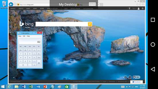 Microsoft Remote Desktop- screenshot thumbnail