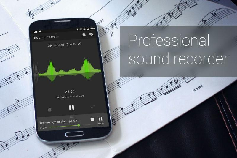 Recordr - Sound Recorder Pro Screenshot 14
