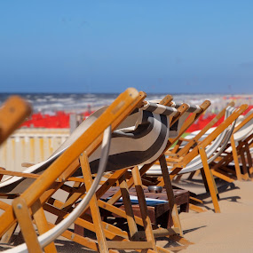 by BertJan Niezing - Artistic Objects Furniture ( adirondack chairs, chair, sand, summer, sea, beach )