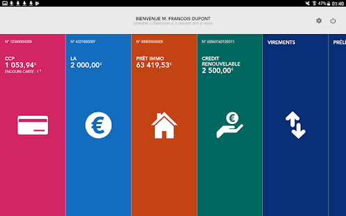 App La Banque Postale apk for kindle fire