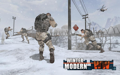 Rules of Modern World War Winter FPS Shooting Game For PC