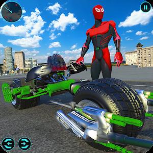 Light Bike Superhero City Rescue Moto Bike Games For PC / Windows 7/8/10 / Mac – Free Download