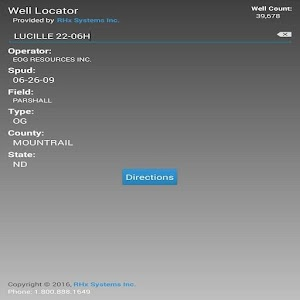 Bakken Well Locator
