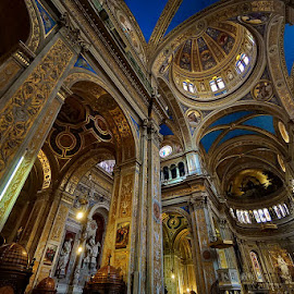 Church in Genoa by Zdenka Rosecka - Buildings & Architecture Places of Worship