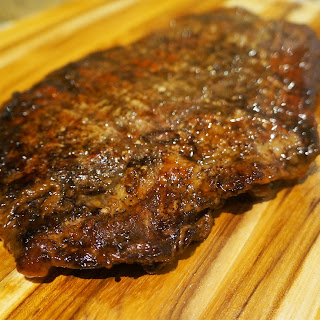 Slow Cooker Teriyaki Flank Steak