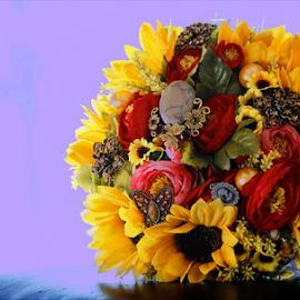 BOUQUET by Viorel Plesca - Artistic Objects Still Life ( viorel plesca, bouquet, wedding photographers, wedding, jewelry, flowers, design, flower )