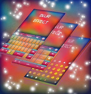 Blur Effect Keyboard - screenshot