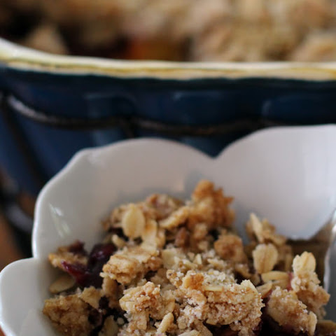 Stone Fruit and Blueberry Crisp