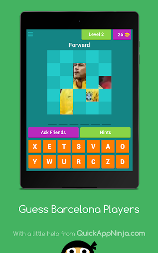Guess Barcelona Players APK