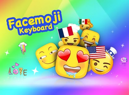 Facemoji Keyboard + GIFs for Lollipop - Android 5.0