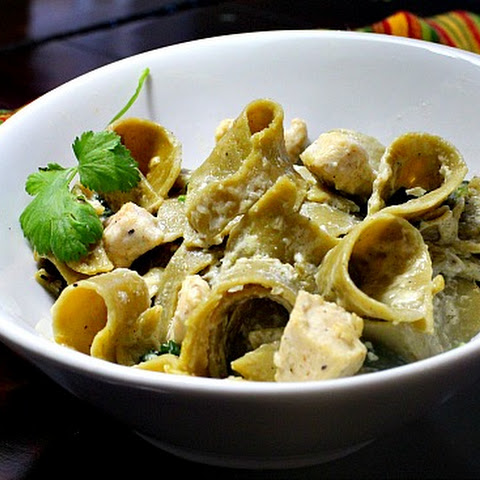 Hatch Green Chile Pasta