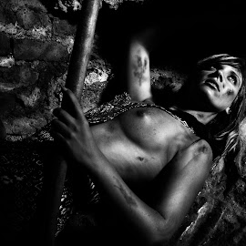 Coal Miner's Daughter by Anco Pretorius - Nudes & Boudoir Artistic Nude ( model, nude, mine, beauty )