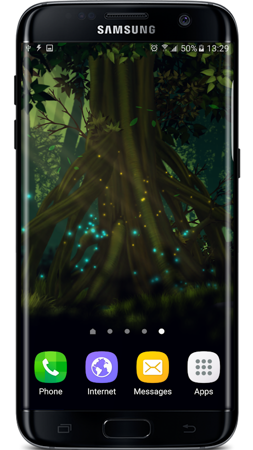 Firefly Forest Live Wallpaper Screenshot 4