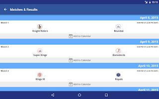 Screenshot of BCCI