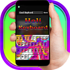 Holi Theme Keyboard