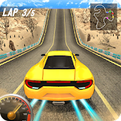 Download illegal Traffic Highway Car Racer APK to PC