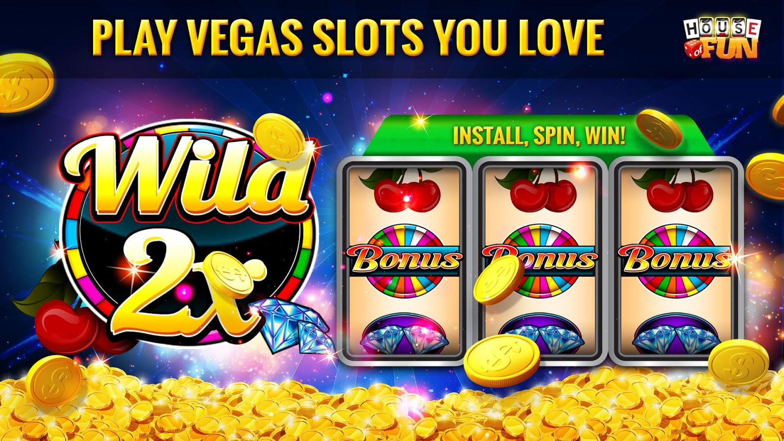 House of Fun-Free Casino Slots Screenshot 8