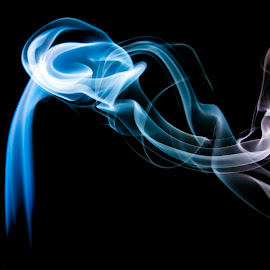 Smoke by Laxminarayan Channa - Abstract Patterns