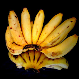 Banana by Prince Frankenstein - Food & Drink Fruits & Vegetables ( reflection, bananas, ripe, photography, mobile )