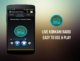 Screenshot of Goa Live Konkani Radio