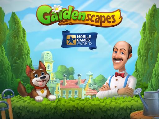 Gardenscapes screenshot 8