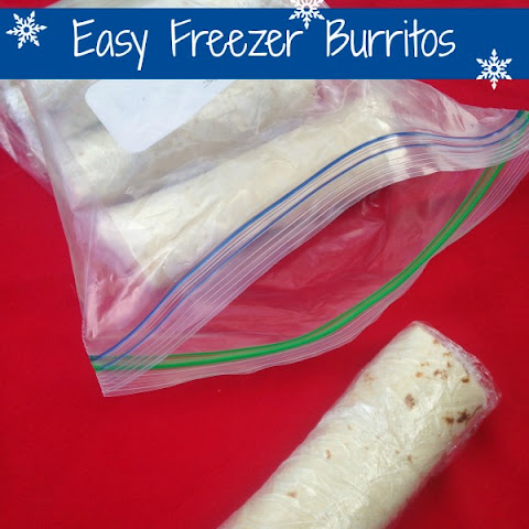 Easy Freezer Burritos