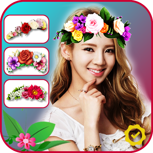 Flower Crown Photo Editor (app)