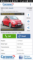 Screenshot of Carzone.ie