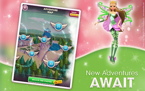 Winx Bloomix Quest apk screenshot