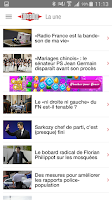 Screenshot of Libération