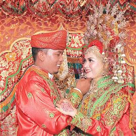 Minang Wedding by Nanda Dhonal - Wedding Reception