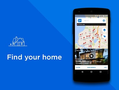 Real Estate & Rentals - Zillow for Lollipop - Android 5.0