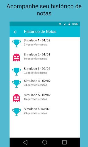 Simulados Detran - Provas screenshot 3