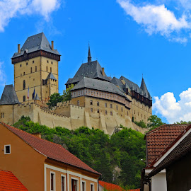 Karlstejn Castle by Paulo Leitão - Buildings & Architecture Statues & Monuments ( karlstein, castle )