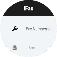 Screenshot of iFax - Send & Receive Faxes