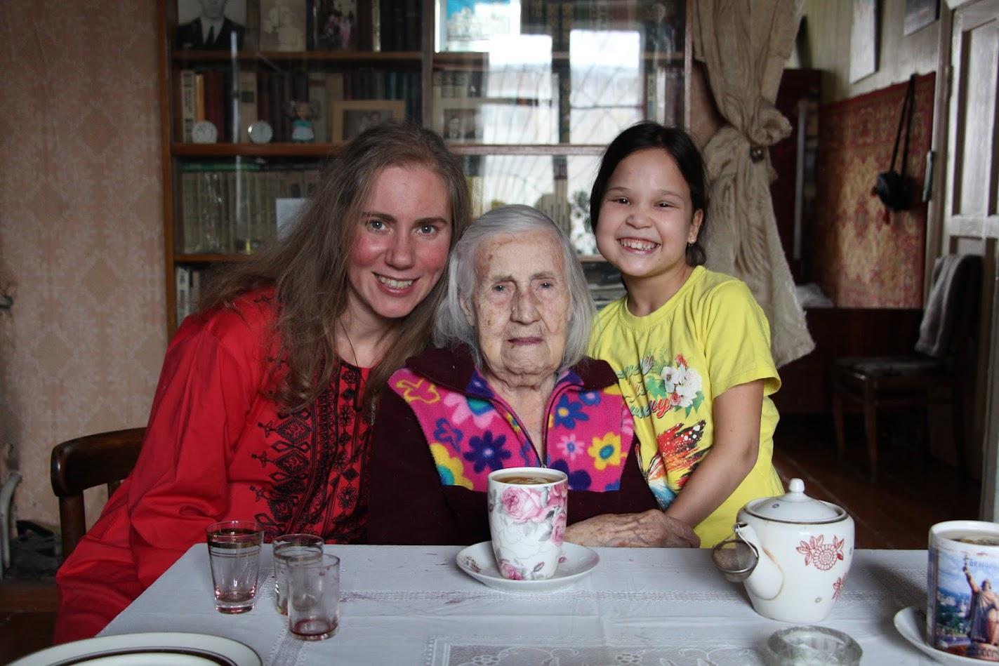 я,София, бабушка Ася