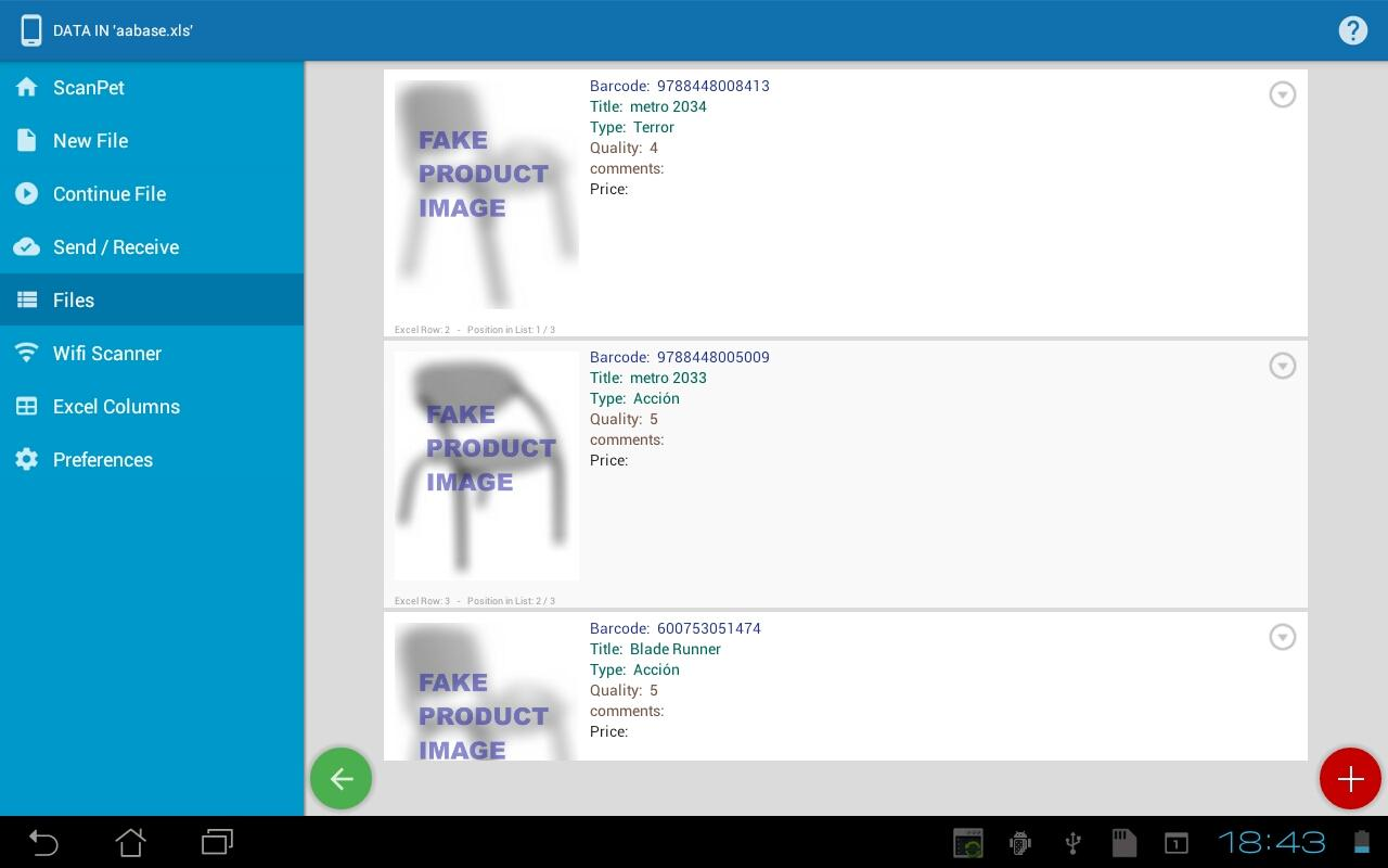 Inventory + Barcode Scanner Screenshot 12