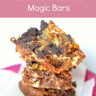 German Chocolate Magic Bars
