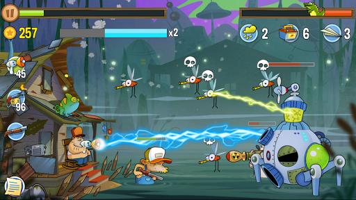 Swamp Attack - screenshot