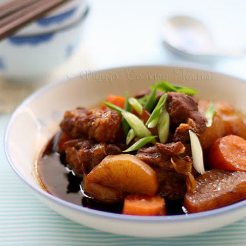 Braised Pork Belly with Coca-cola