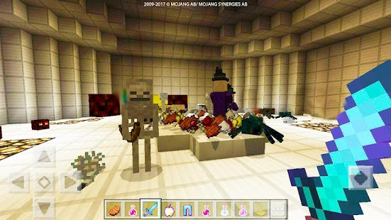 PVP ZombieArena map for MCPE for pc